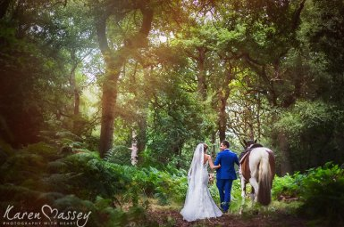 A Woodland Wedding With Emma & Seb